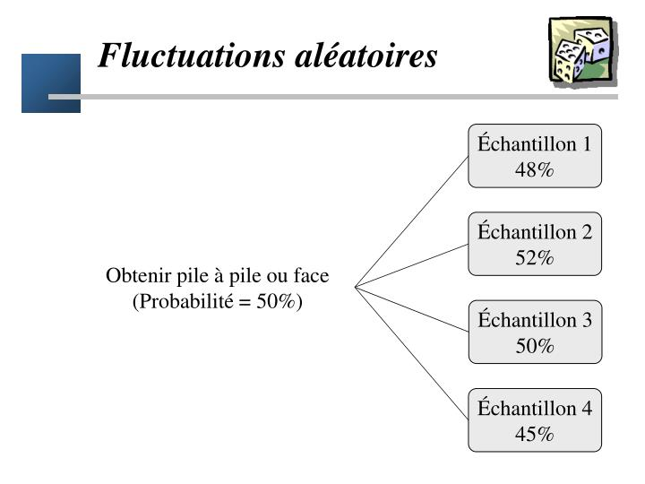 Fluctuations al atoires