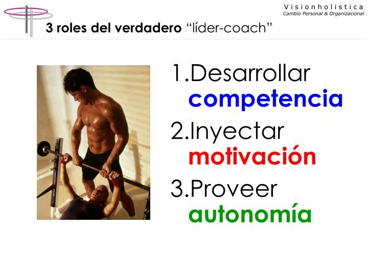 3 roles del verdadero