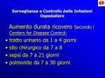 sorveglianza e controllo delle infezioni ospedaliere1