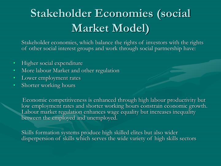 Stakeholder Economies (social Market Model)