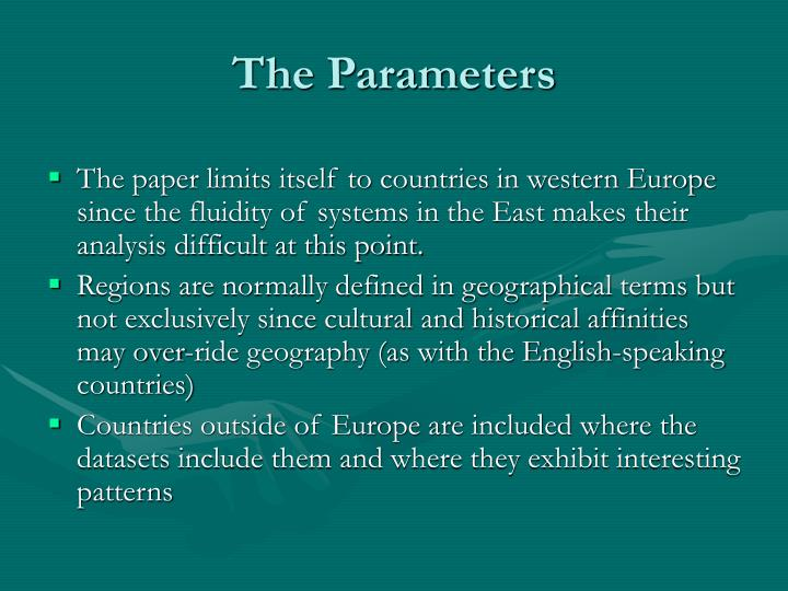 The Parameters