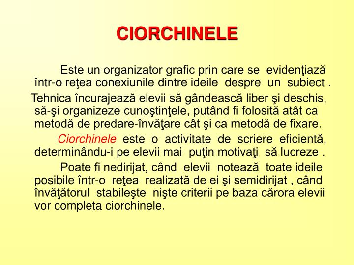 CIORCHINELE