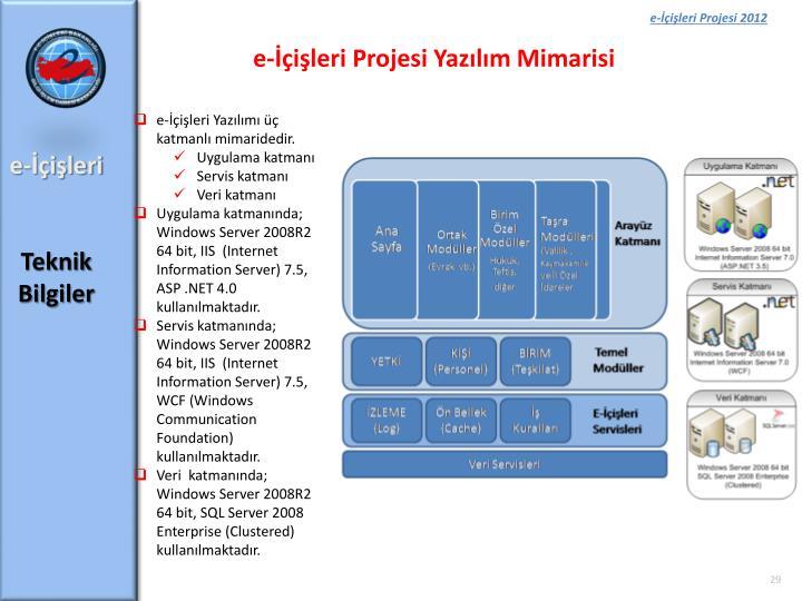 e-İçişleri Projesi