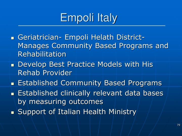Empoli Italy