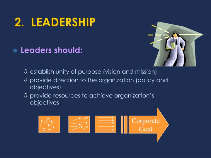 2.  LEADERSHIP