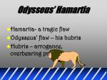 odysseus hamartia