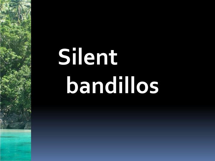 Silent bandillos