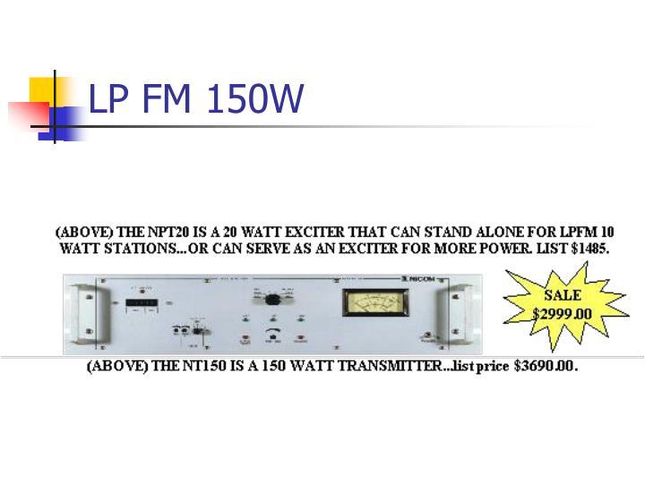 LP FM 150W