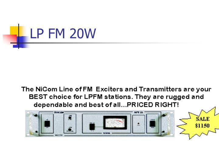 LP FM 20W