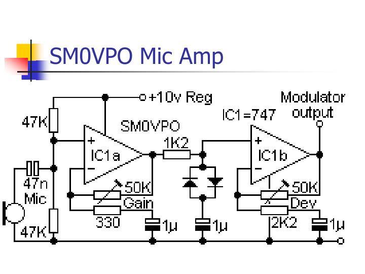 SM0VPO Mic Amp