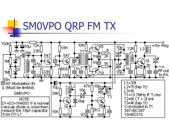 SM0VPO QRP FM TX
