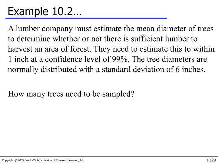 Example 10.2…