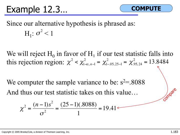 Example 12.3…