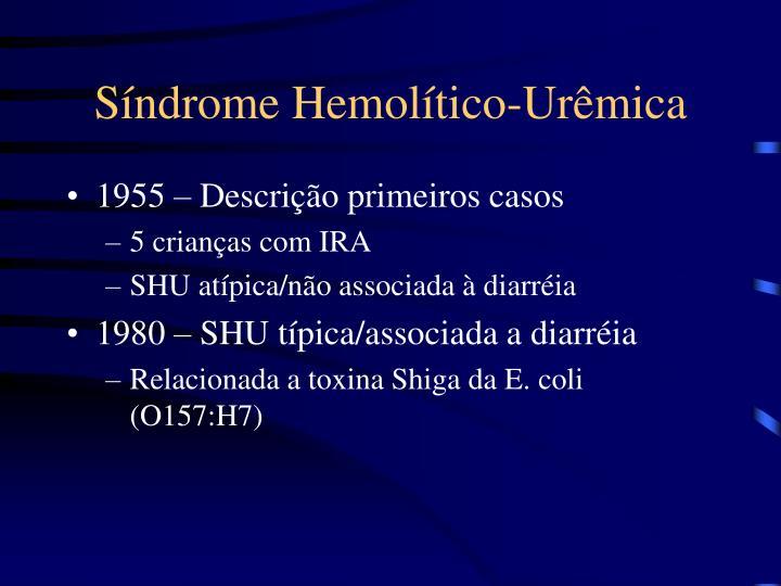 Síndrome Hemolítico