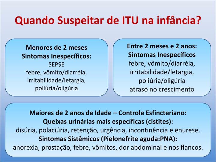 Quando Suspeitar de ITU na infância?