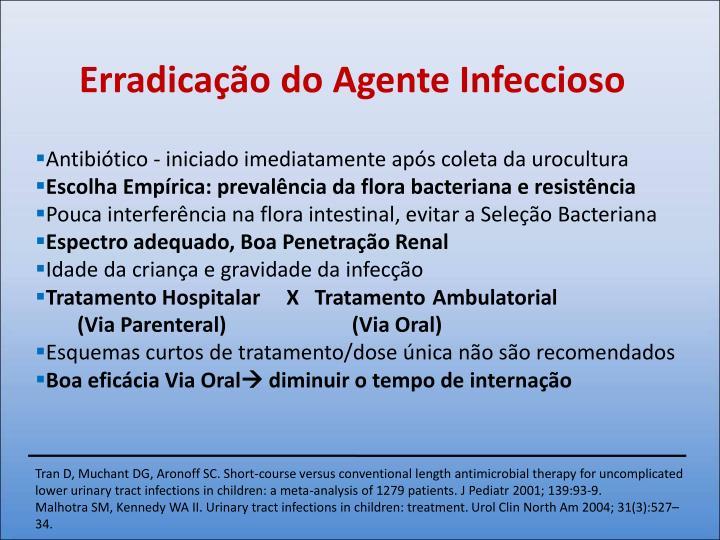 Erradicação do Agente Infeccioso