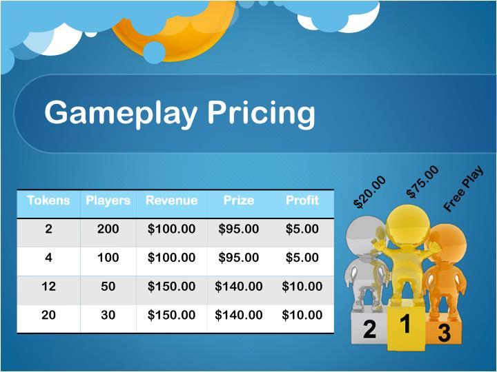 Gameplay Pricing
