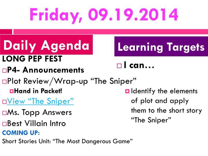 Friday, 09.19.2014