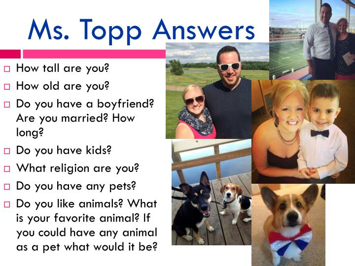 Ms. Topp Answers