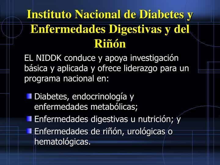 Instituto Nacional de Diabetes y Enfermedades Digestivas y del Rin