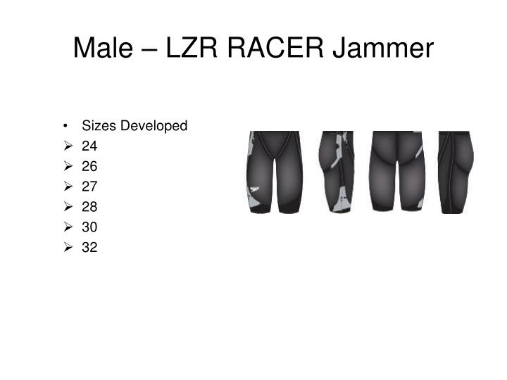 Male – LZR RACER Jammer