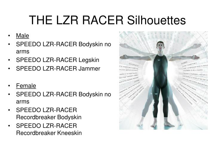 The lzr racer silhouettes