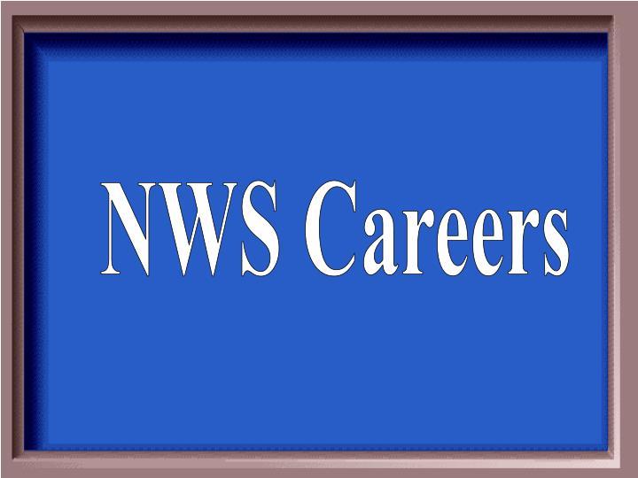 NWS Careers