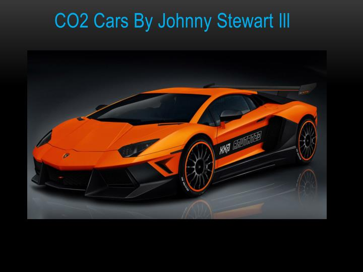Co2 cars by johnny stewart lll