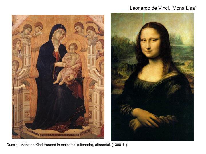Leonardo de Vinci, 'Mona Lisa'