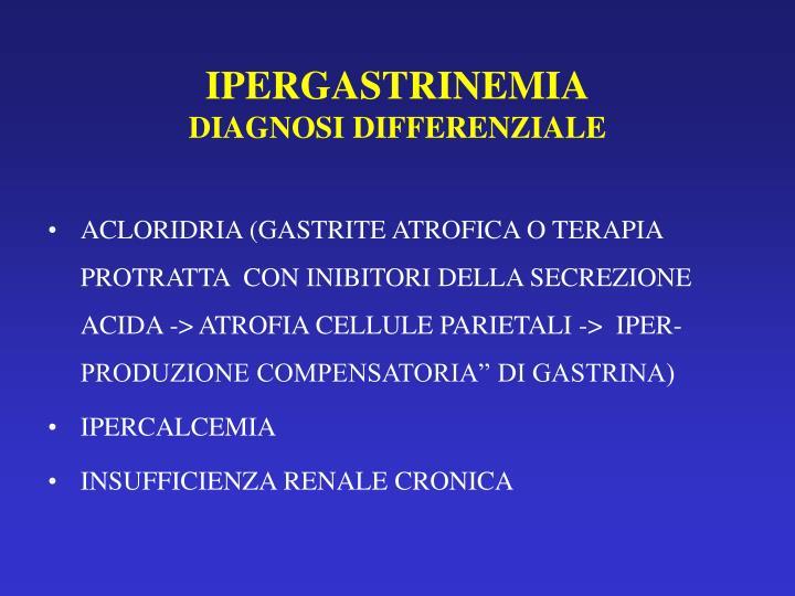 IPERGASTRINEMIA