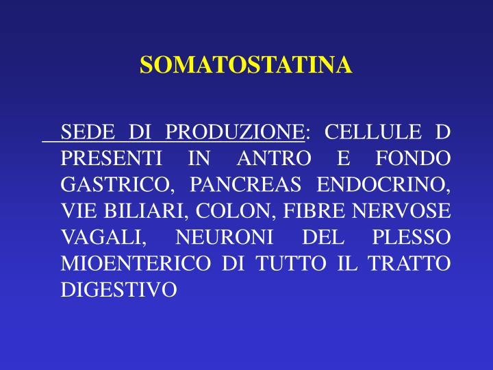 SOMATOSTATINA