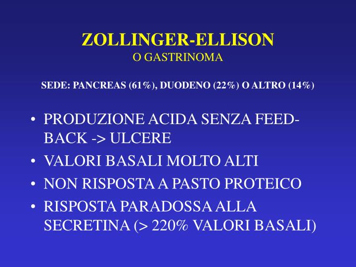 ZOLLINGER-ELLISON