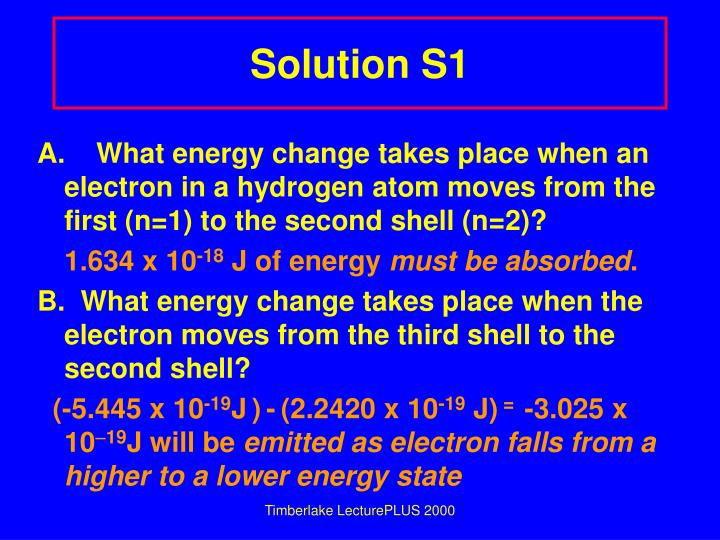 Solution S1