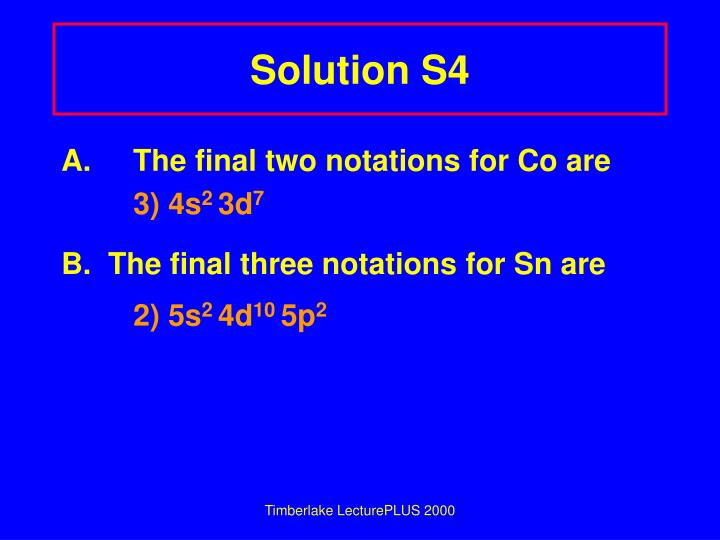 Solution S4