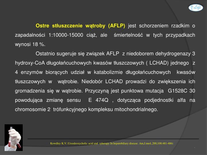 Ostre stłuszczenie wątroby (AFLP)