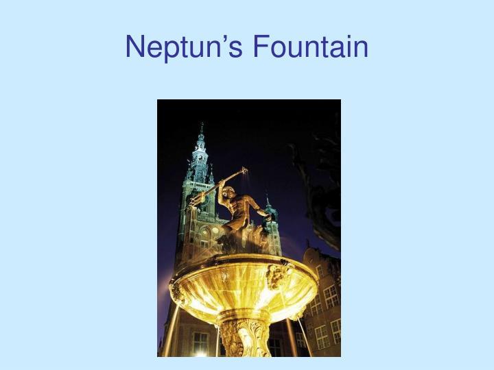 Neptun's Fountain