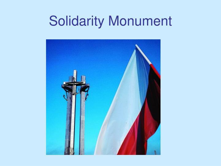 Solidarity Monument