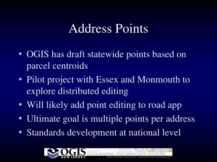 Address Points