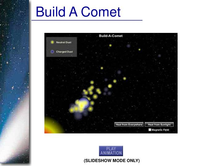 Build A Comet
