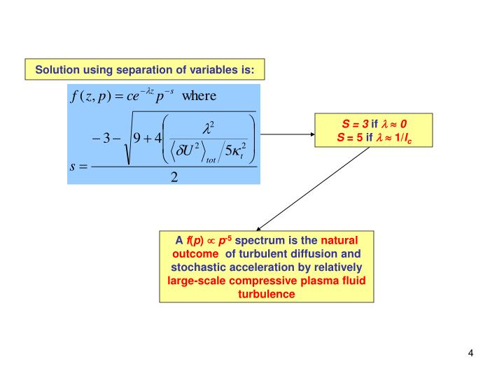 Solution using separation of variables is: