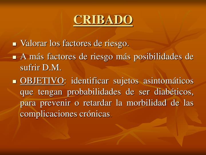 CRIBADO