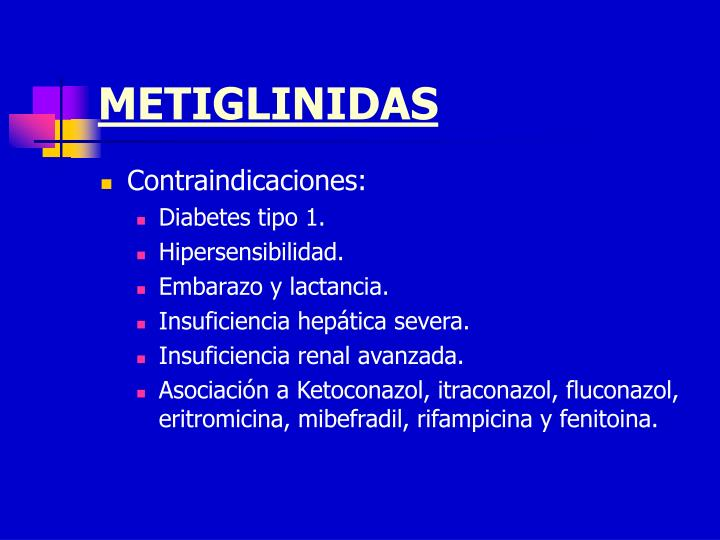METIGLINIDAS