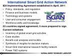 international smart grid action network