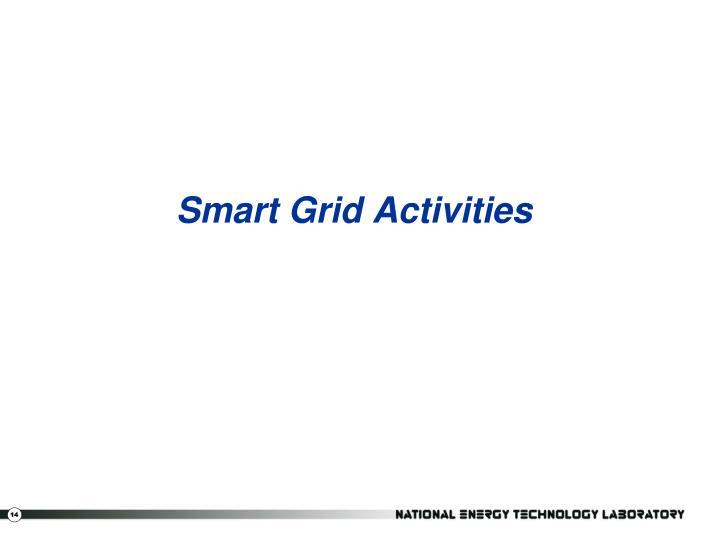 Smart Grid Activities