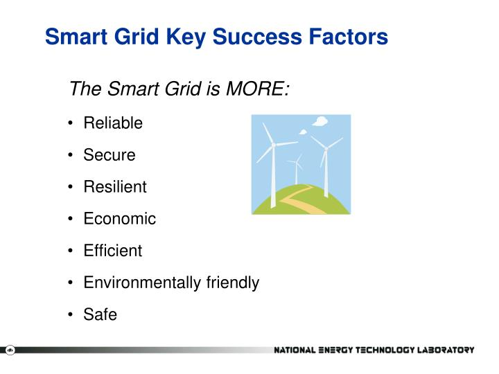 Smart Grid Key Success Factors