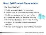 smart grid principal characteristics