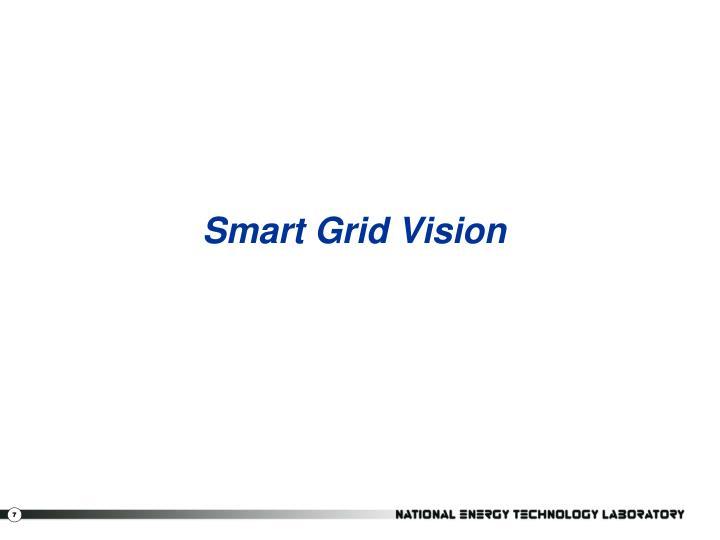 Smart Grid Vision
