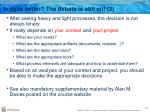 is agile better the debate is still on 2