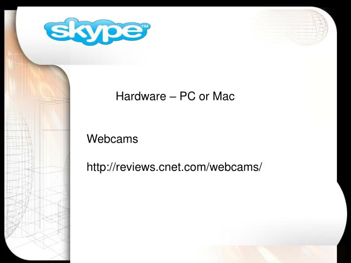 Hardware – PC or Mac