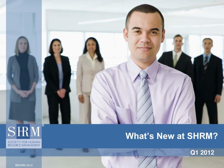what s new at shrm